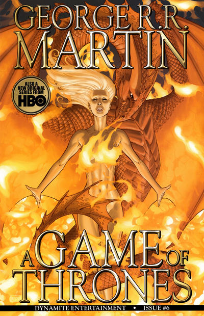 Cover for George R. R. Martin's A Game of Thrones (Dynamite Entertainment, 2011 series) #6