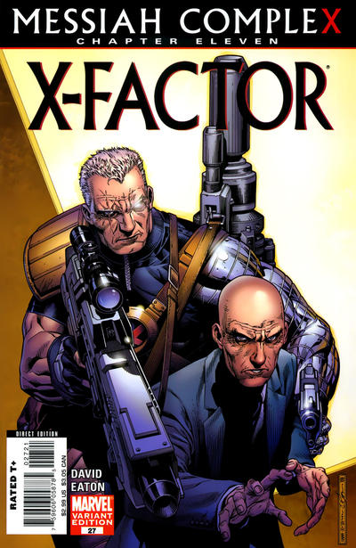 Cover for X-Factor (Marvel, 2006 series) #27 [Newsstand Edition]