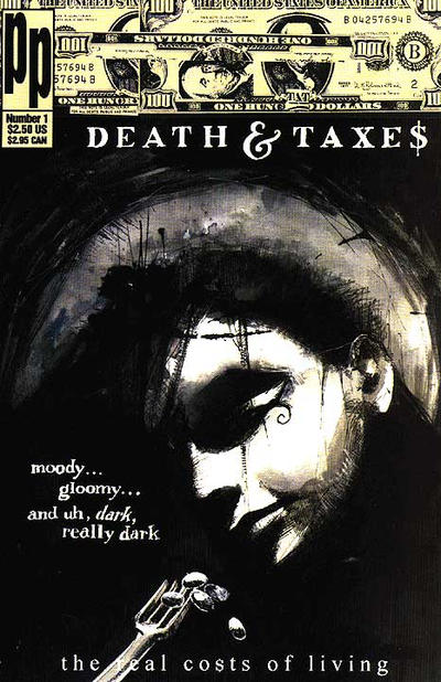 Cover for Death & Taxes: The Real Costs of Living (Entity-Parody, 1993 series) #1
