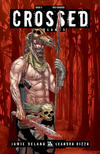 Cover Thumbnail for Crossed Badlands (2012 series) #5 [Incentive Red Crossed Cover - Jacen Burrows]