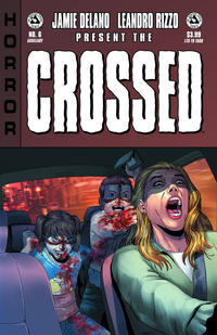 Cover Thumbnail for Crossed Badlands (Avatar Press, 2012 series) #6 [Auxiliary Variant Cover by Jacen Burrows]