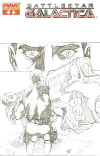 Cover Thumbnail for Battlestar Galactica (Dynamite Entertainment, 2006 series) #2 [2E]