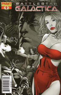 Cover Thumbnail for Battlestar Galactica (Dynamite Entertainment, 2006 series) #4 [Cover G - e.bas Variant]