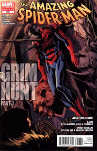 Cover Thumbnail for The Amazing Spider-Man (Marvel, 1999 series) #636 [2nd Printing Variant Cover]