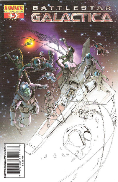 Cover for Battlestar Galactica (2006 series) #5 [5D]