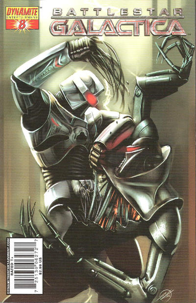 Cover for Battlestar Galactica (2006 series) #8 [8D]