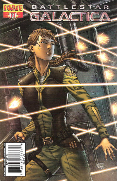 Cover for Battlestar Galactica (2006 series) #11