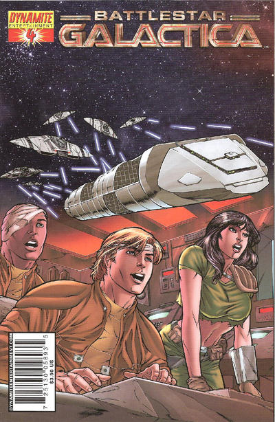 Cover for Classic Battlestar Galactica (Dynamite Entertainment, 2006 series) #4