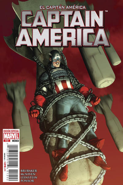 Cover for El Capitán América, Captain America (Editorial Televisa, 2012 series) #2