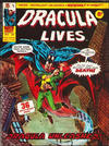 Cover for Dracula Lives (Marvel UK, 1974 series) #24