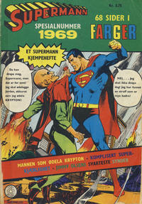Cover Thumbnail for Supermann Spesial (Se-Bladene, 1969 series) #1969