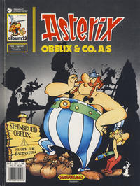 Cover for Asterix (1969 series) #23 - Obelix & Co. A/S [2. opplag Reutsendelse bc-F 147 34]