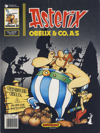 Cover Thumbnail for Asterix (Hjemmet, 1969 series) #23 - Obelix & Co. A/S [4. opplag]