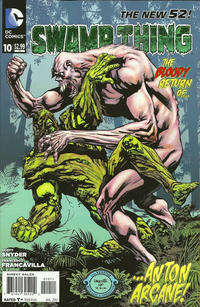 Cover Thumbnail for Swamp Thing (DC, 2011 series) #10