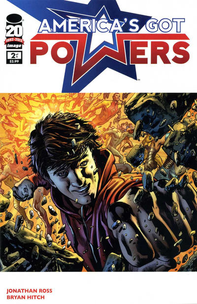 Cover for America's Got Powers (2012 series) #2
