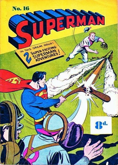Cover for Superman (1947 series) #16