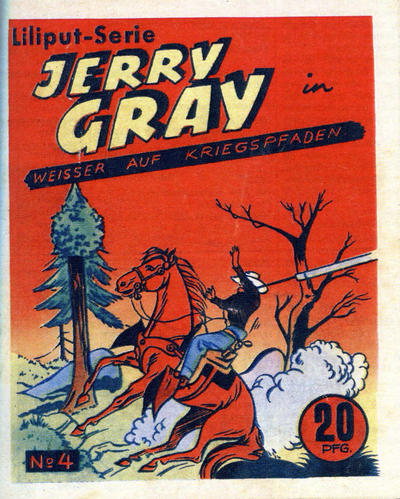 Cover for Jerry Gray (1953 series) #4