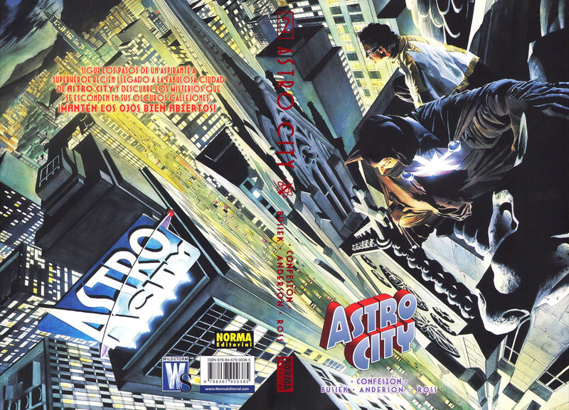 Cover for Astro City (NORMA Editorial, 2009 series) #2