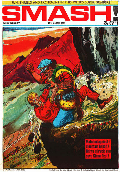 Cover for Smash! (IPC, 1966 series) #254