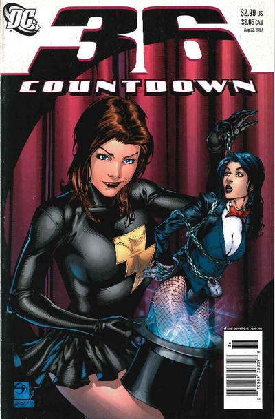 Cover for Countdown (DC, 2007 series) #36 [direct]