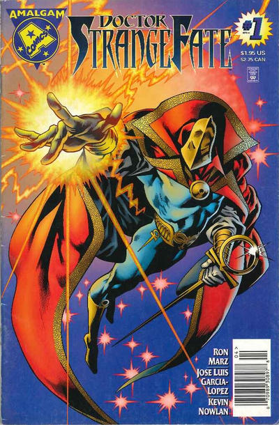 Cover for Doctor Strangefate (DC / Marvel, 1996 series) #1 [Newsstand Edition]