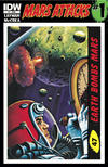 Cover for Mars Attacks (IDW, 2012 series) #1 [Card 47 variant]