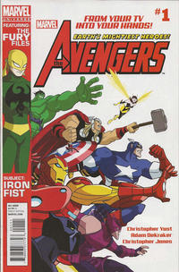 Cover Thumbnail for Marvel Universe Avengers Earth&#39;s Mightiest Heroes (Marvel, 2012 series) #1
