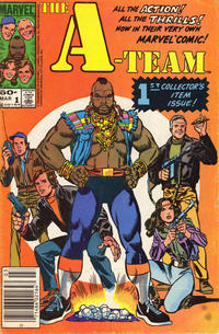 Cover for The A-Team (1984 series) #1 [Newsstand]