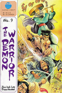 Cover Thumbnail for The Demon Warrior (Eastern Comics, 1987 series) #9