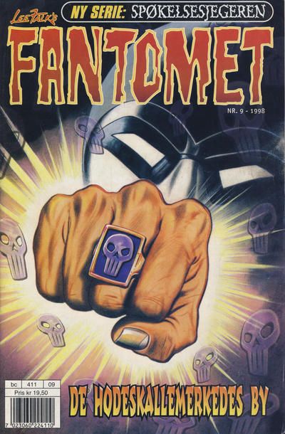 Cover for Fantomet (Egmont Serieforlaget, 1998 series) #9/1998