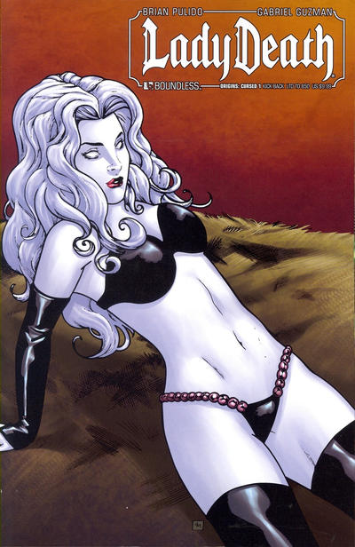 Cover for Lady Death Origins: Cursed (Avatar Press, 2012 series) #1 [Phoenix Comic-con VIP variant]