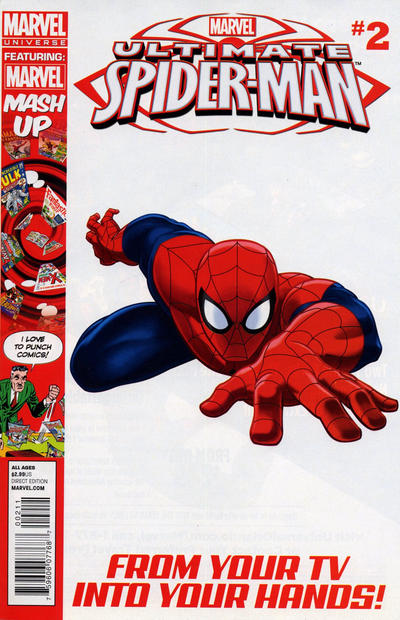 Cover for Marvel Universe Ultimate Spider-Man (Marvel, 2012 series) #2