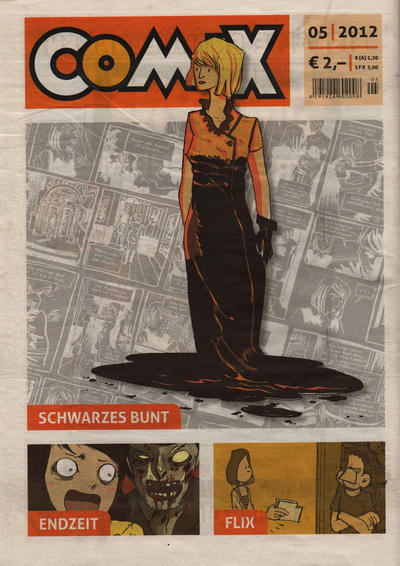 Cover for Comix (2010 series) #5/2012