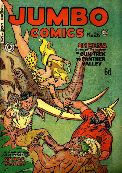 Cover for Jumbo Comics (H. John Edwards, 1950 ? series) #26