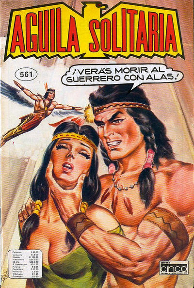 Cover for Aguila Solitaria (Editora Cinco, 1976 ? series) #561