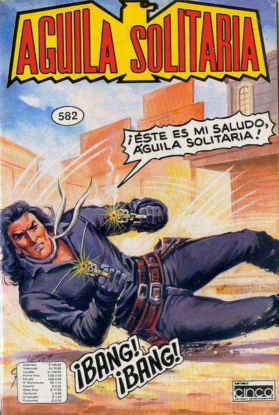 Cover for Aguila Solitaria (Editora Cinco, 1976 ? series) #582