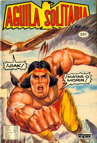 Cover for Aguila Solitaria (1976 ? series) #591