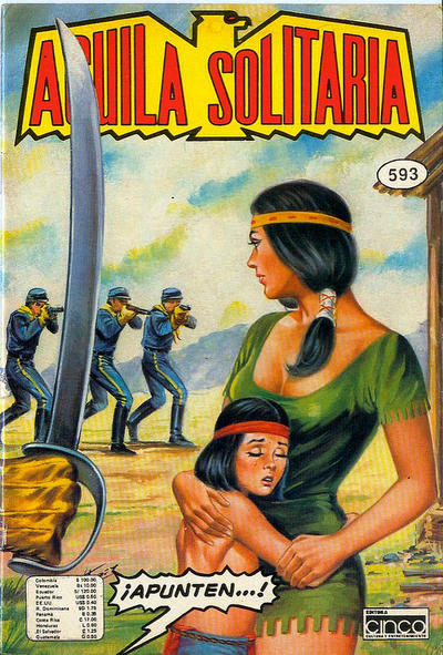 Cover for Aguila Solitaria (Editora Cinco, 1976 ? series) #593