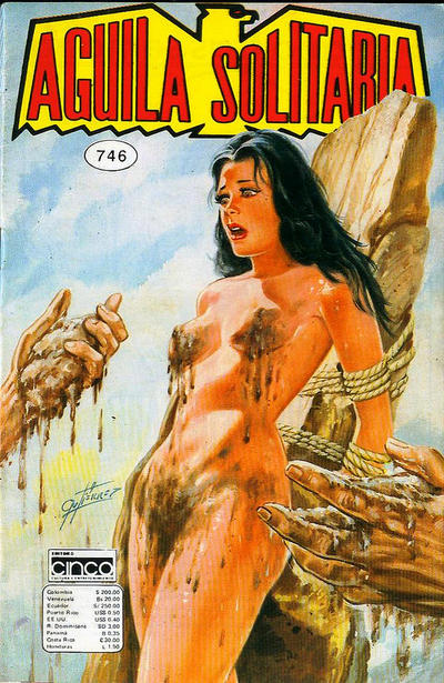 Cover for Aguila Solitaria (Editora Cinco, 1976 ? series) #746