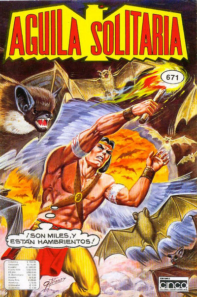Cover for Aguila Solitaria (Editora Cinco, 1976 ? series) #671