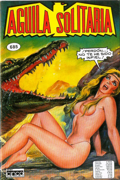 Cover for Aguila Solitaria (Editora Cinco, 1976 ? series) #685