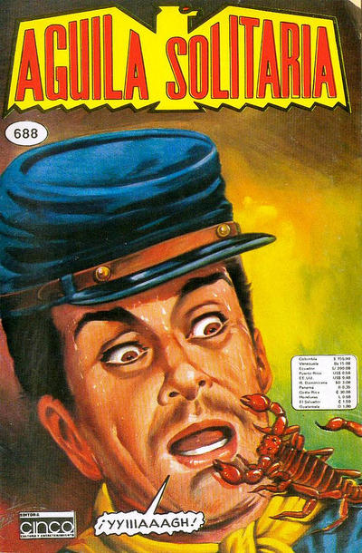 Cover for Aguila Solitaria (Editora Cinco, 1976 ? series) #688