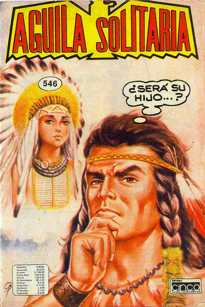 Cover for Aguila Solitaria (Editora Cinco, 1976 ? series) #546