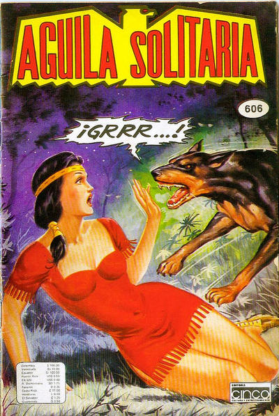 Cover for Aguila Solitaria (1976 ? series) #606