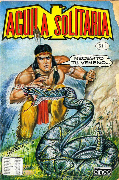 Cover for Aguila Solitaria (Editora Cinco, 1976 ? series) #611