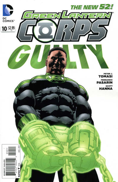 Cover for Green Lantern Corps (DC, 2011 series) #10