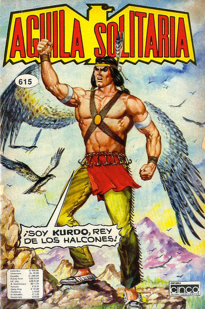 Cover for Aguila Solitaria (Editora Cinco, 1976 ? series) #615