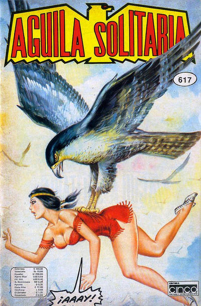 Cover for Aguila Solitaria (1976 ? series) #617