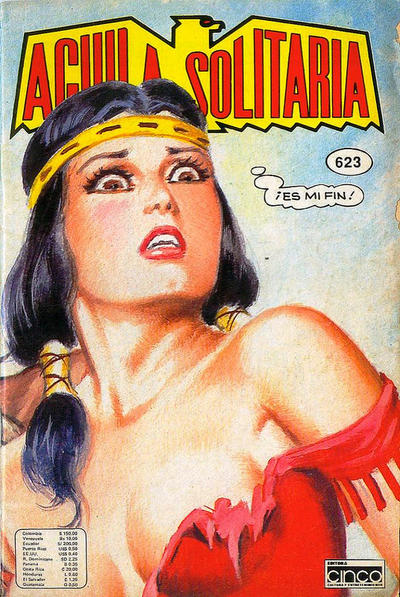 Cover for Aguila Solitaria (Editora Cinco, 1976 ? series) #623