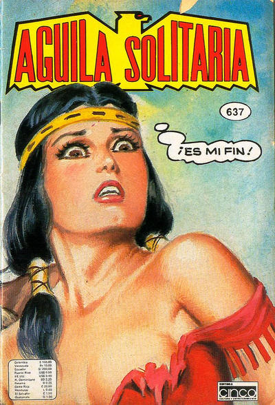 Cover for Aguila Solitaria (Editora Cinco, 1976 ? series) #637